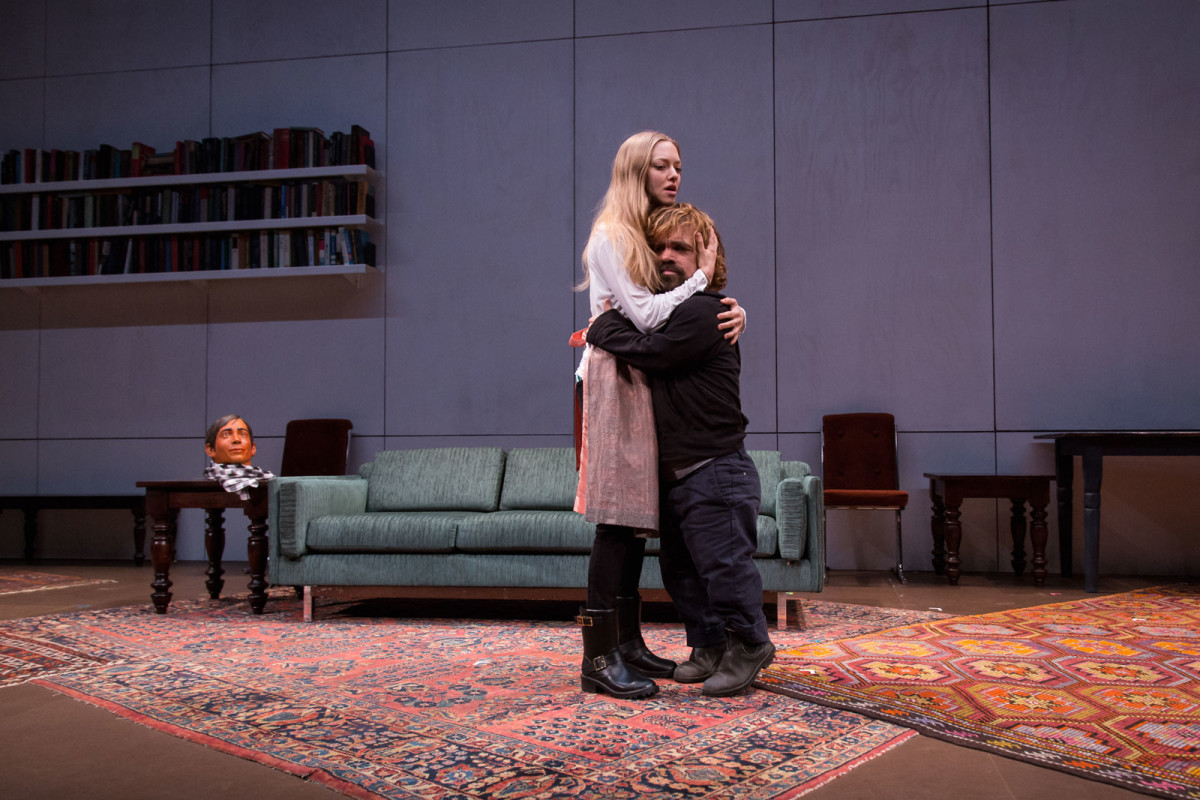 Theater: 24 Hour Plays on Broadway 2015, Amanda and Peter