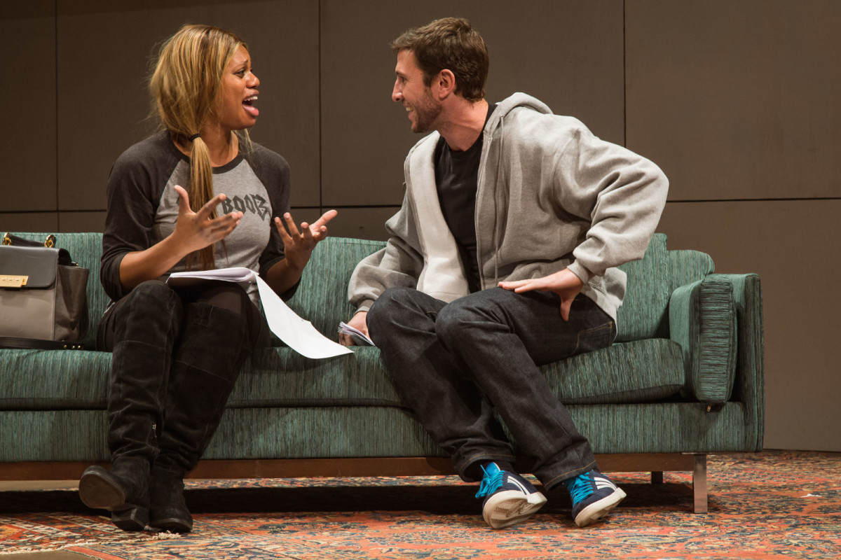 Theater: 24 Hour Plays on Broadway 2015, Laverne and Pablo