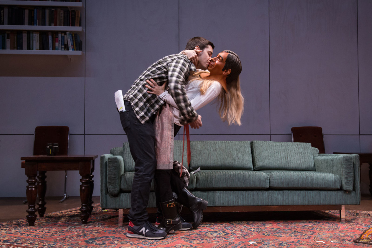 Theater: 24 Hour Plays on Broadway 2015, Justin and Amanda