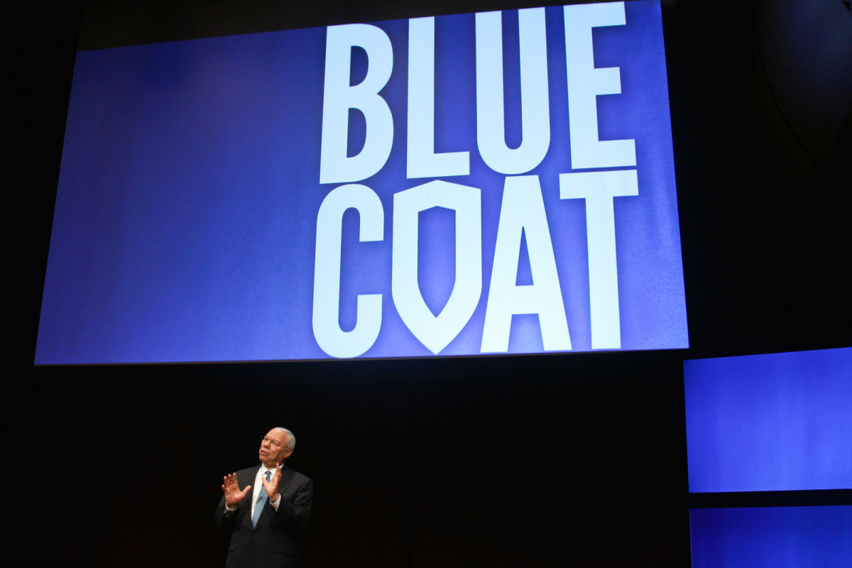 General Colin Powell, Blue Coat conference