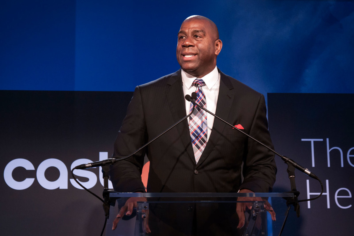 Magic Johnson at Castlight