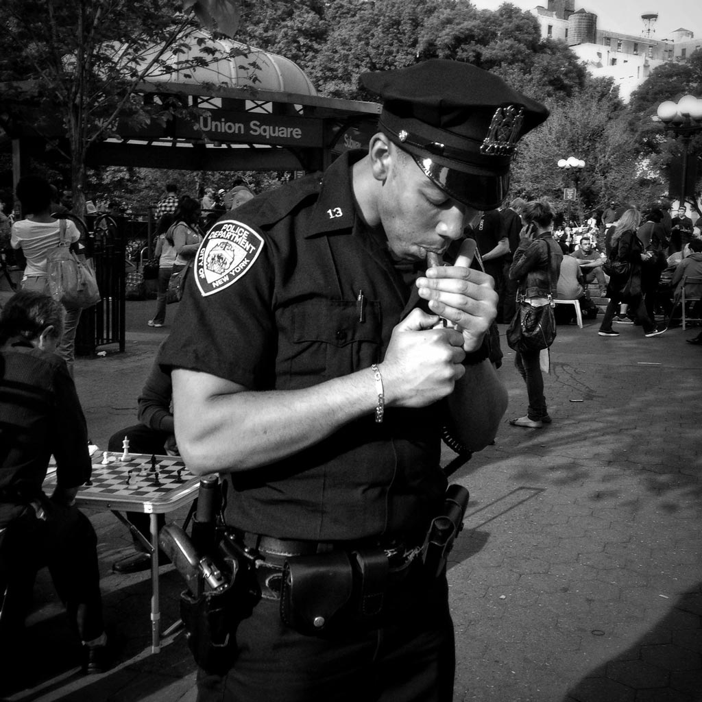The Policeman Who Broke the Rules