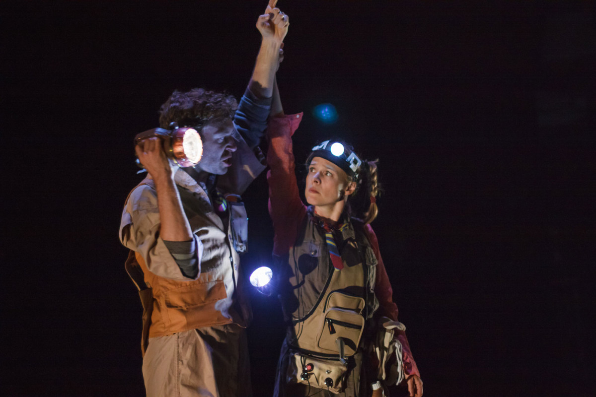 "Theater: Tami Stronach play ""Light: a Dark Comedy"""