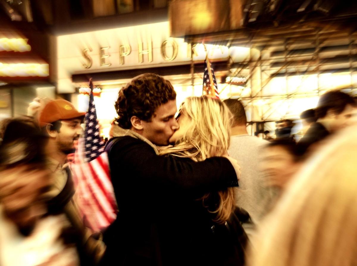 Photojournalism: The Kiss