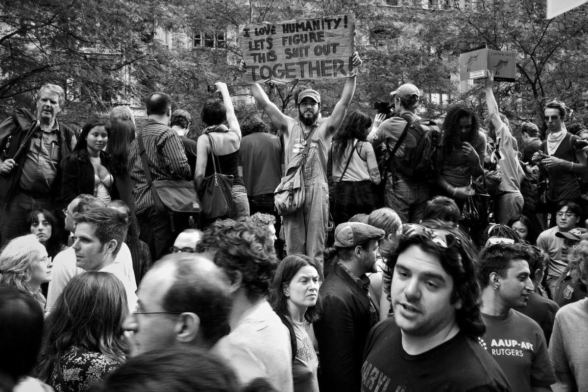 Photojournalism Occupy Wall Street
