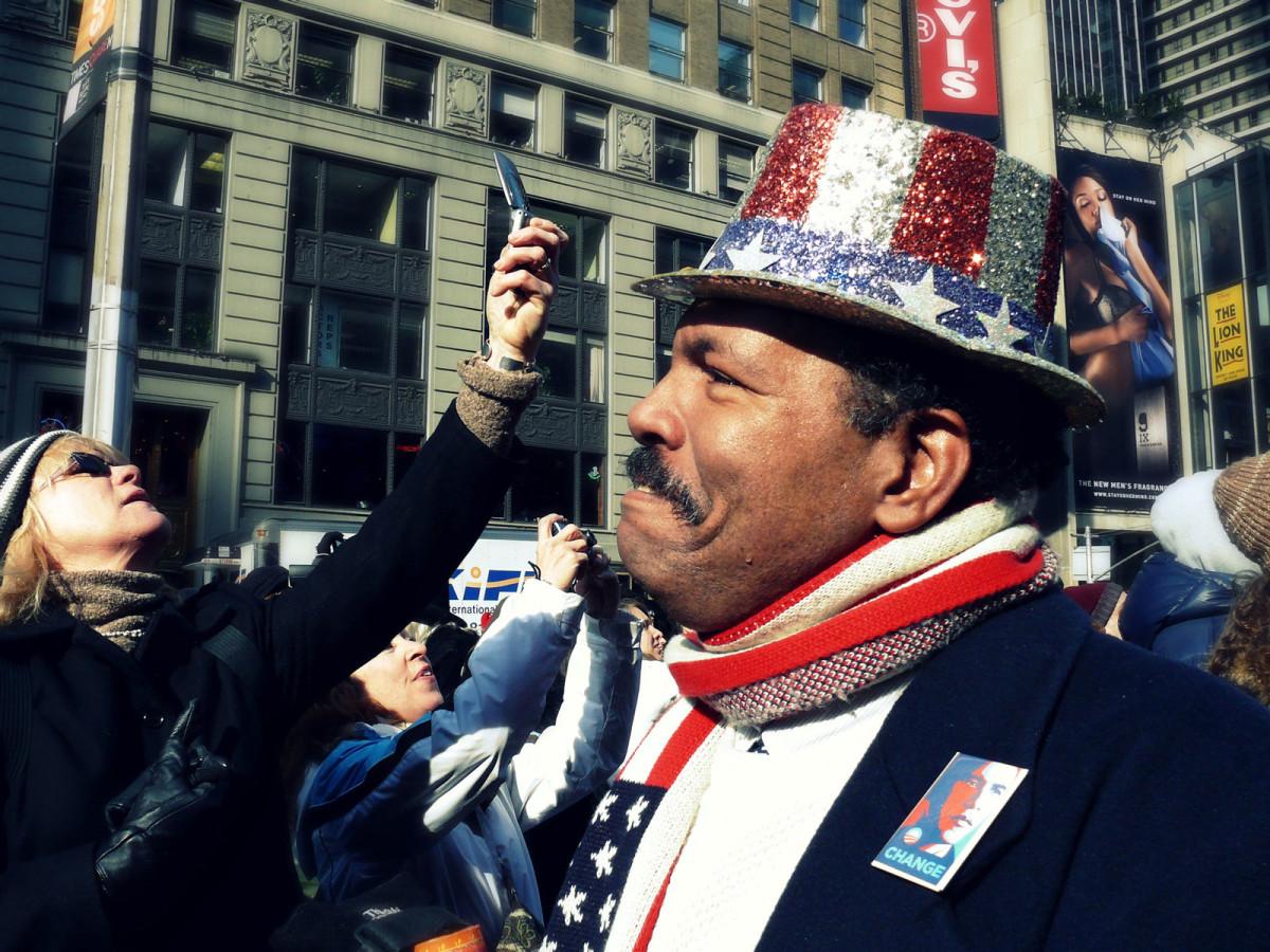 Photojournalism Barack Obama's inaugural day
