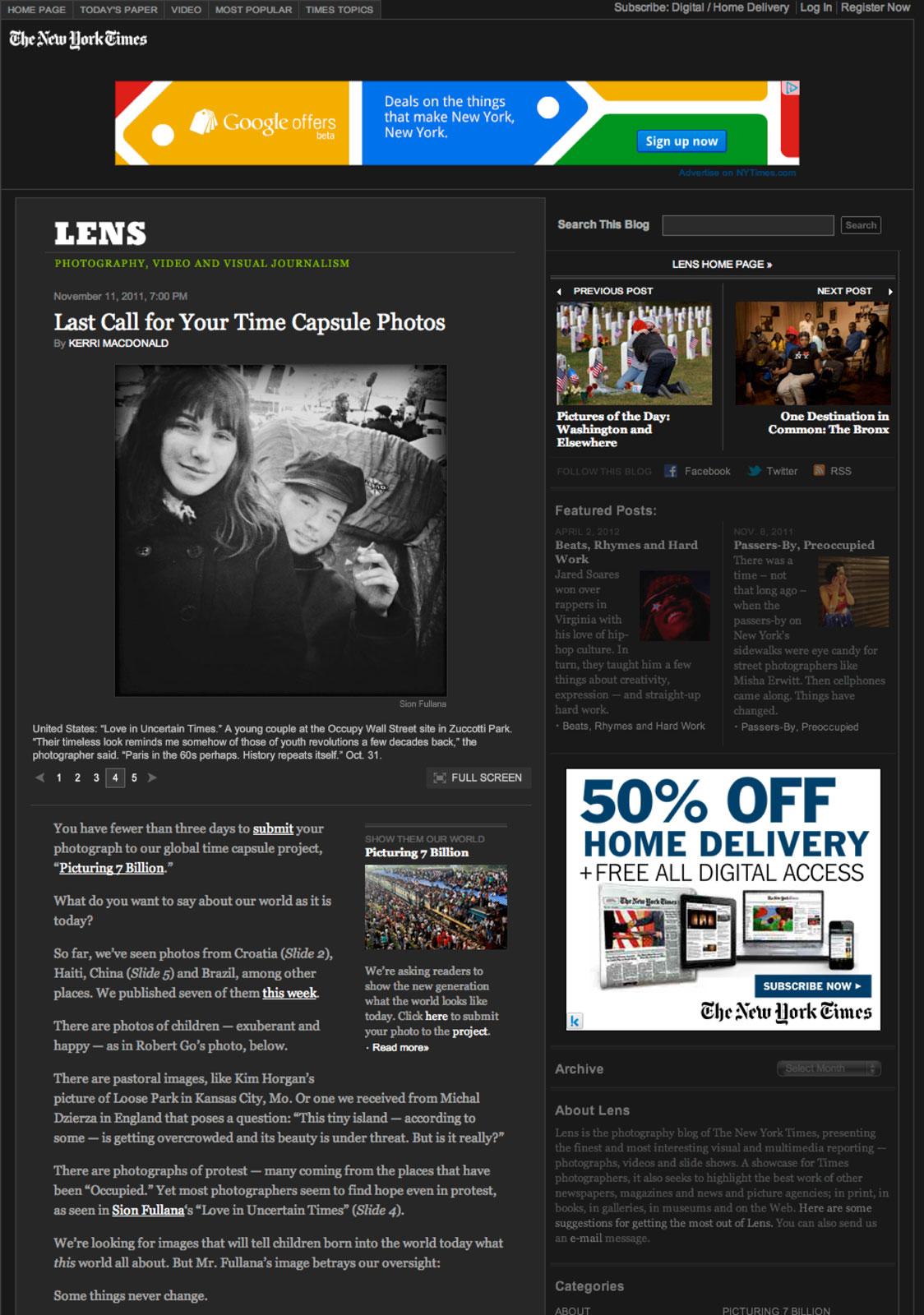 Lens-New-York-Times